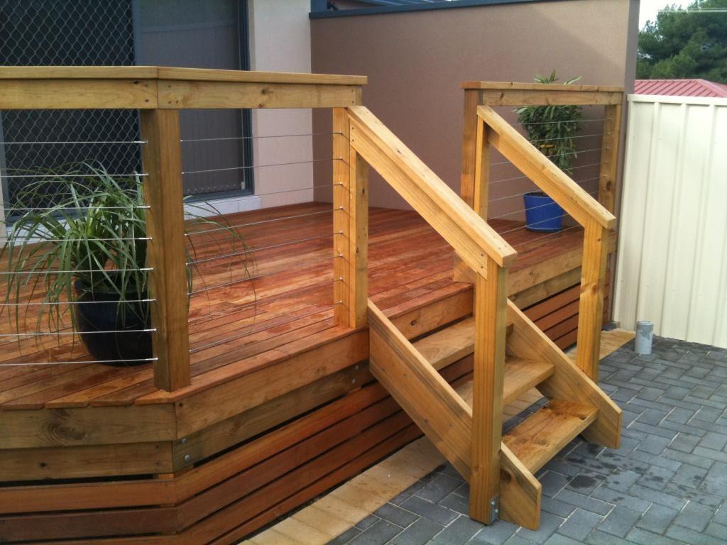 simple cedar stairs 1