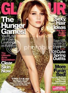 Jennifer Lawrence Glamour April 2012