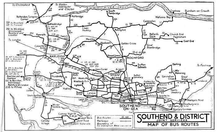 Southend Corporation Transport 61