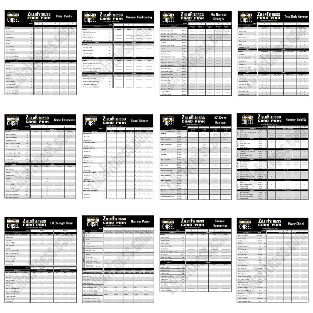 Body Beast Workout Sheets Pdf