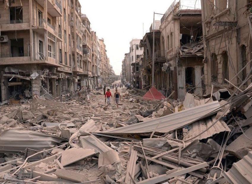 Resultado de imaxes para Alepo y la desinformación