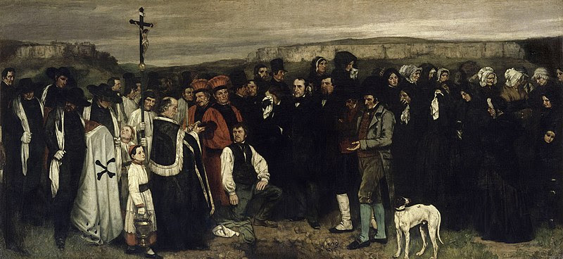 File:Gustave Courbet - A Burial at Ornans - Google Art Project 2.jpg