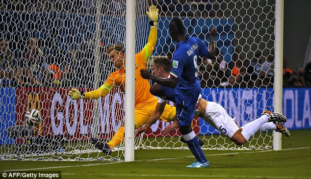 Mario Balotelli was mobile and dangerous as ever, and his goal gave Italy the win