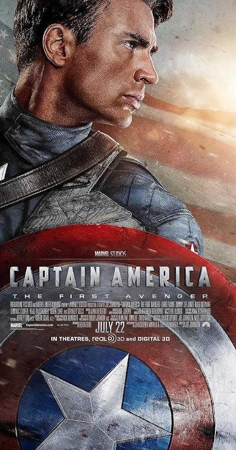 Captain America: The First Avenger (2011) 480p 720p 1080p BluRay Dual Audio (Hindi+English) Full Movie