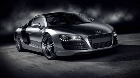Sport Car Audi R8 Black Wallpaper Wallpaper   WallpaperLepi