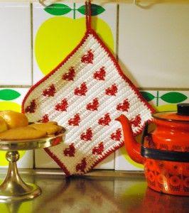 Small heart pattern. #crochet