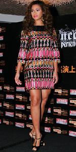 Beyonce Knowles wearing Milly