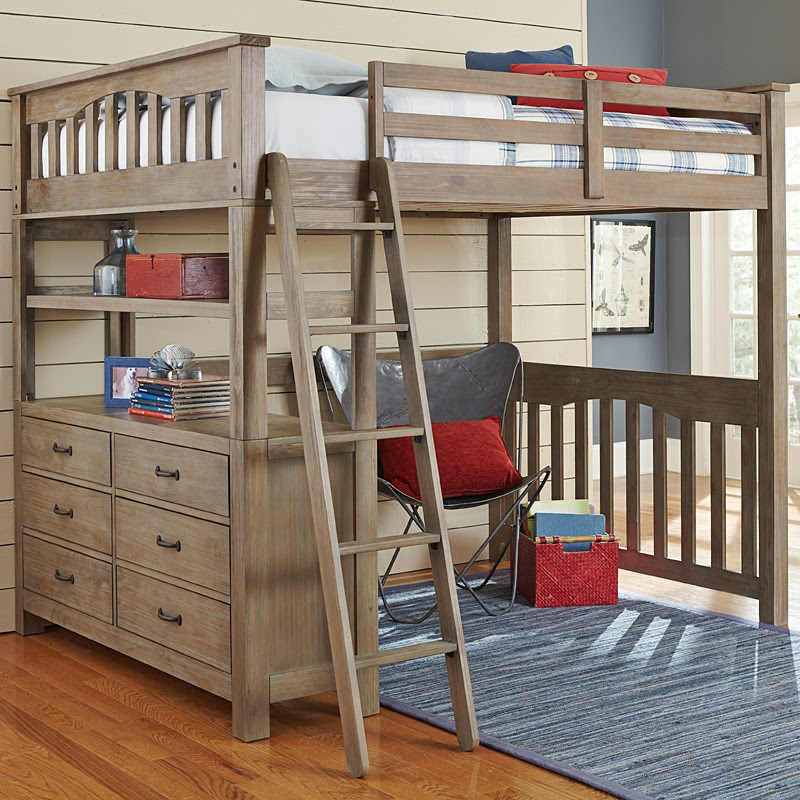 20 Loft Beds with Desk For Boys Bedrooms | Home Design Lover