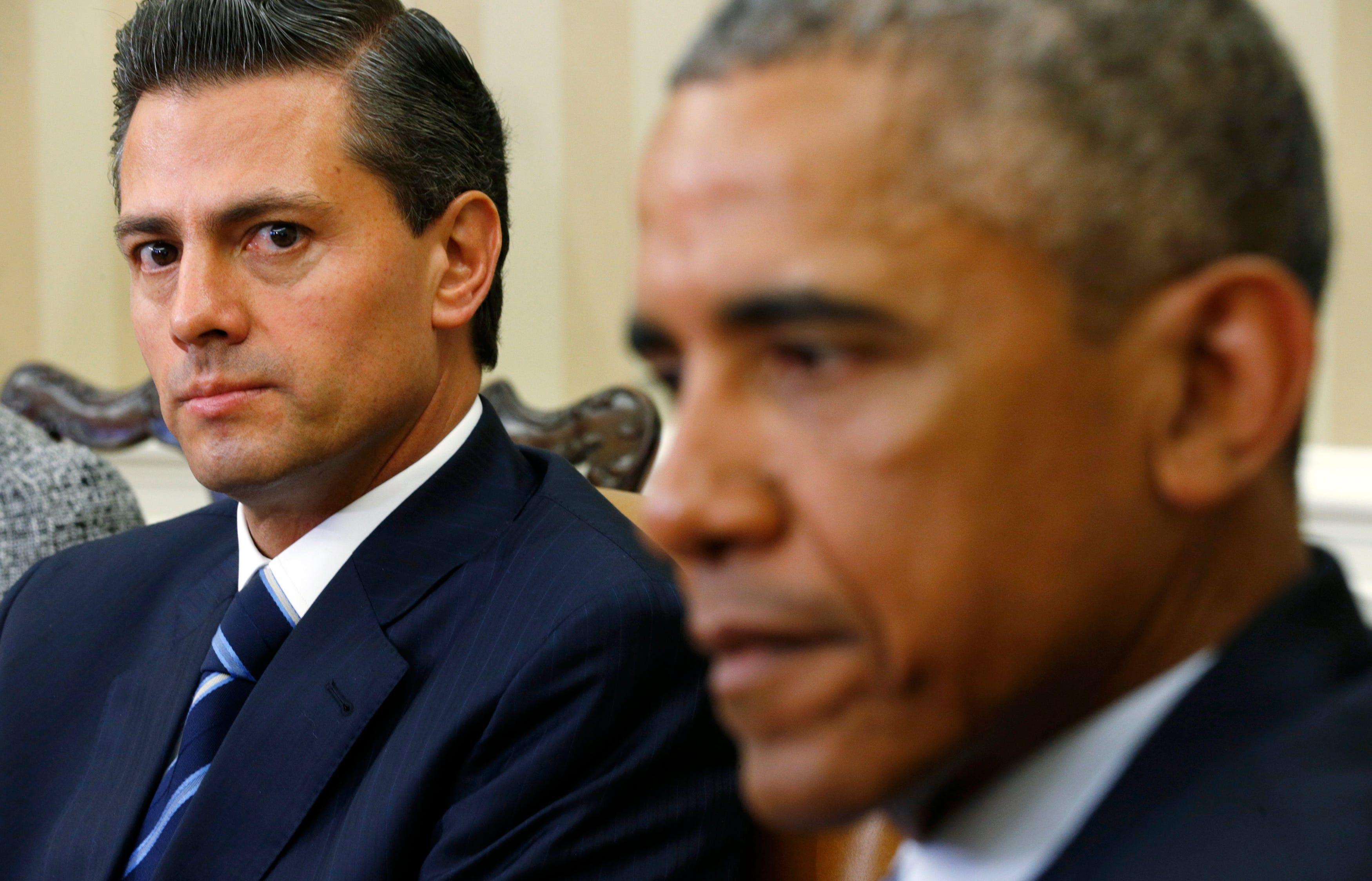 pena nieto and obama