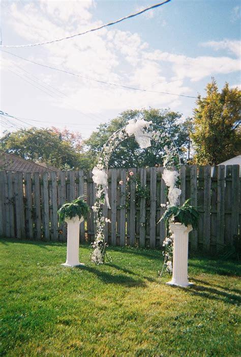wedding ideas   budget backyard wedding ideas