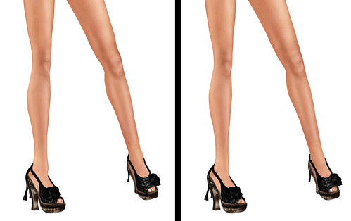I take angles off my calves.