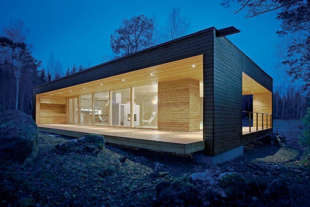 Casas de madera prefabricadas casa de madera baratas precios - Refugios de madera prefabricados ...