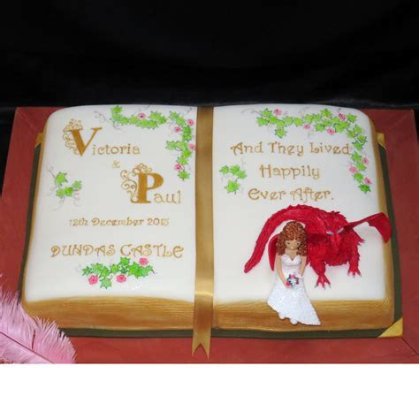 Story Book Wedding Story Book Wedding Cake