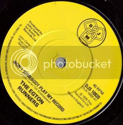 Egton Runners - Won't Somebody Play My Record