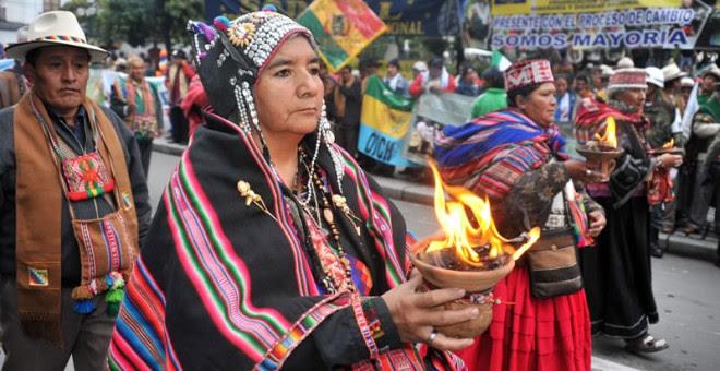 Día de la Descolonización en el Estado Plurinacional de Bolivia.