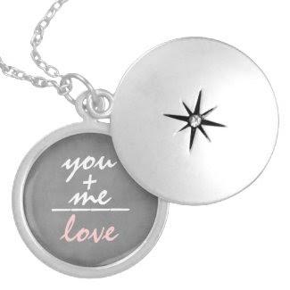Romantic You +Me Equals Love