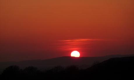 sunset cardiff