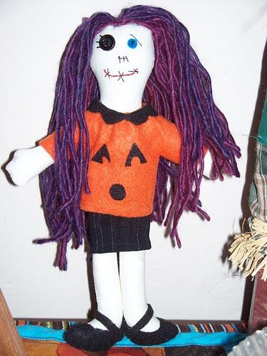 halloween doll]