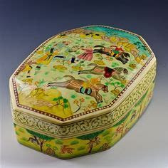 14 Best Oriental Asian Hand Painted Wooden Jewelry Boxes