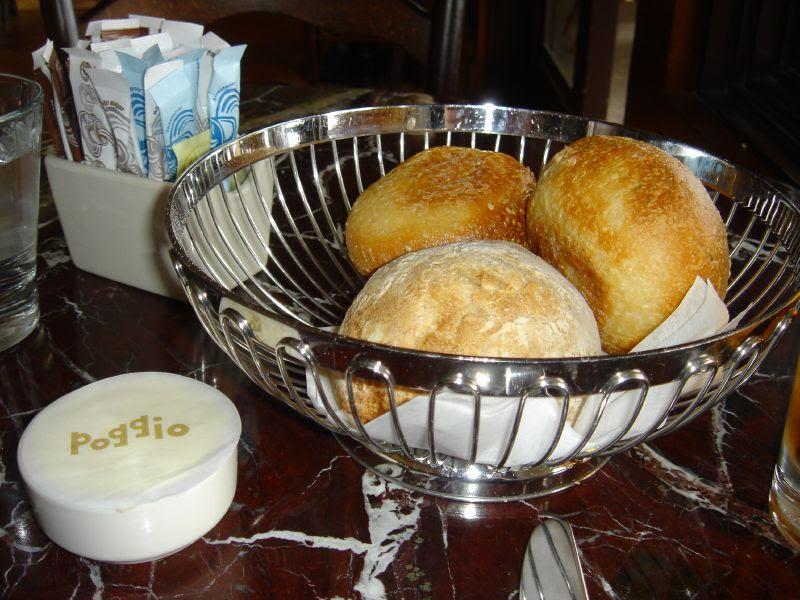 Hot bread & butter