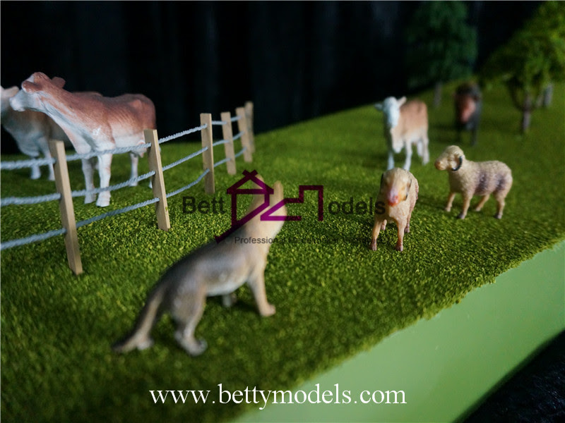 Farm Scene Scale Models