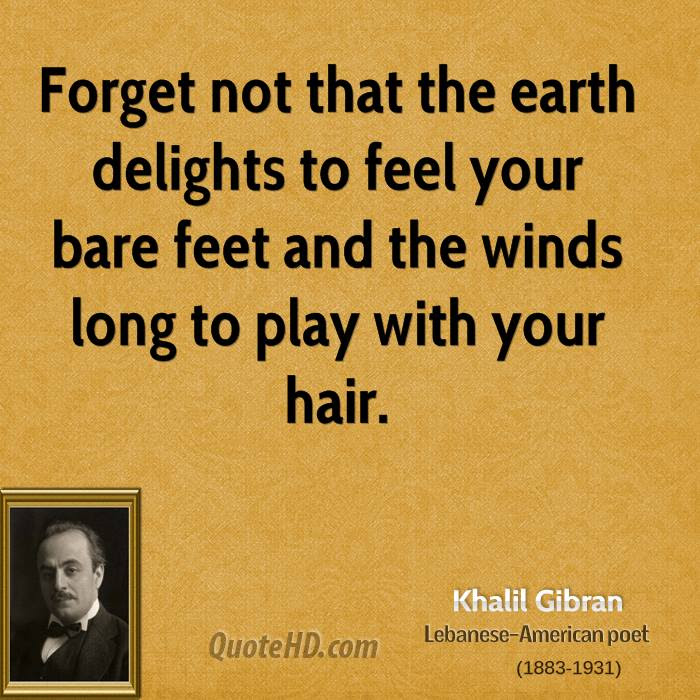 Khalil Gibran Nature Quotes Quotehd