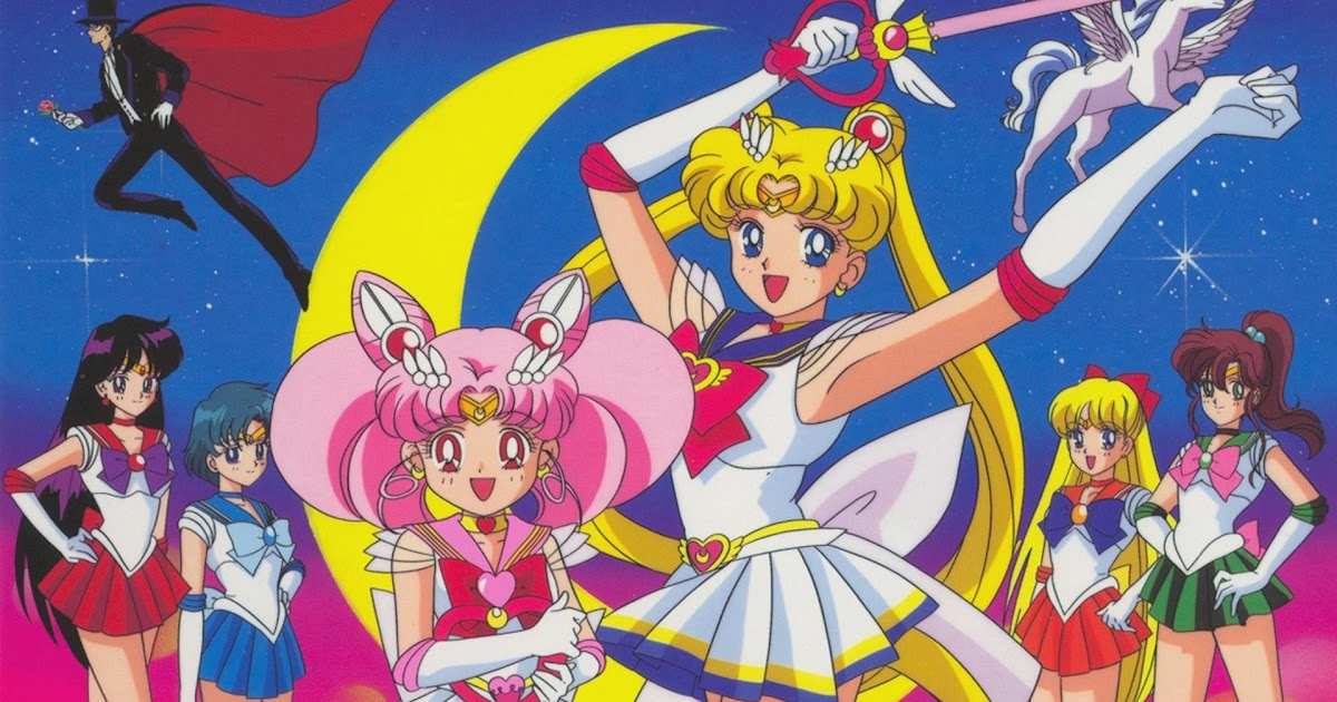Sailor Moon Desktop Wallpaper Aesthetic Gambarku