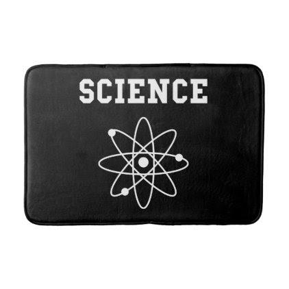Science Atom Bath Mat