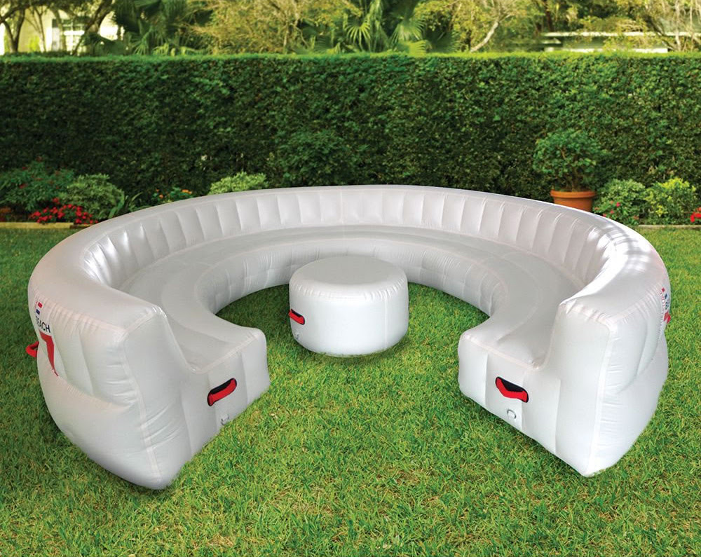 massive inflatable outdoor party sofa seats 30 guests 2
