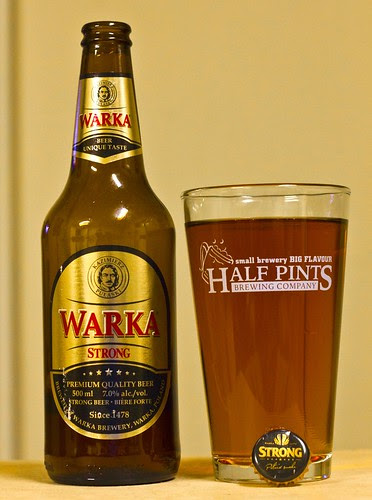 Review: Warka Strong Premium Beer by Cody La Bière
