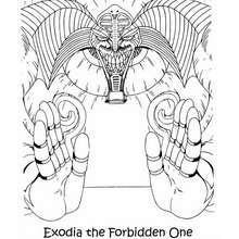 Dibujos Para Colorear Monstruo Exodia The Forbidden One Es