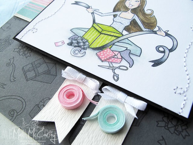 paper ribbon rolls
