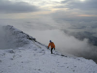 Donald nearing the summit