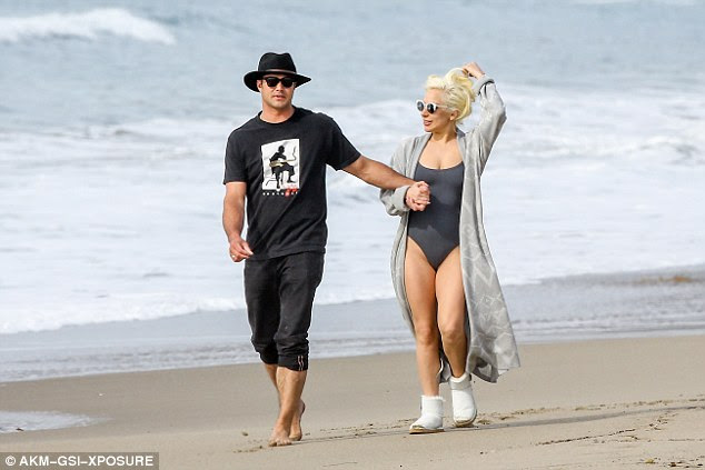 Their new way of life: While Gaga grew up on the East Coast, the couple now live full time at their Malibu mansion ensuring they always have access to the beach
