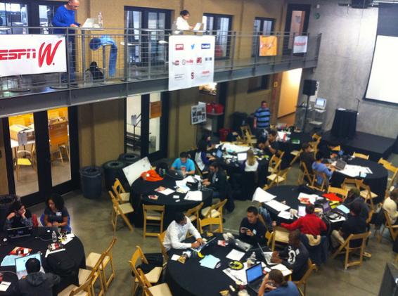 ESPNW Hackathon 2012 Stanford