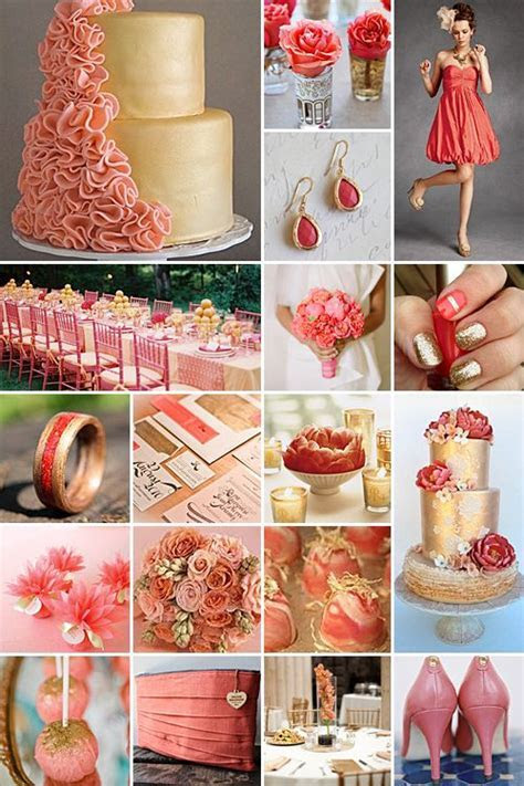 Best 25  Coral and gold ideas on Pinterest   Coral gold