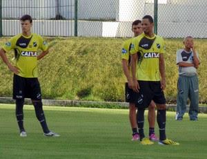 Samuel - zagueiro ABC (Foto: Klênyo Galvão/GloboEsporte.com)