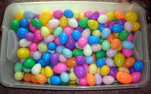 Easter Egg Hunt Prep