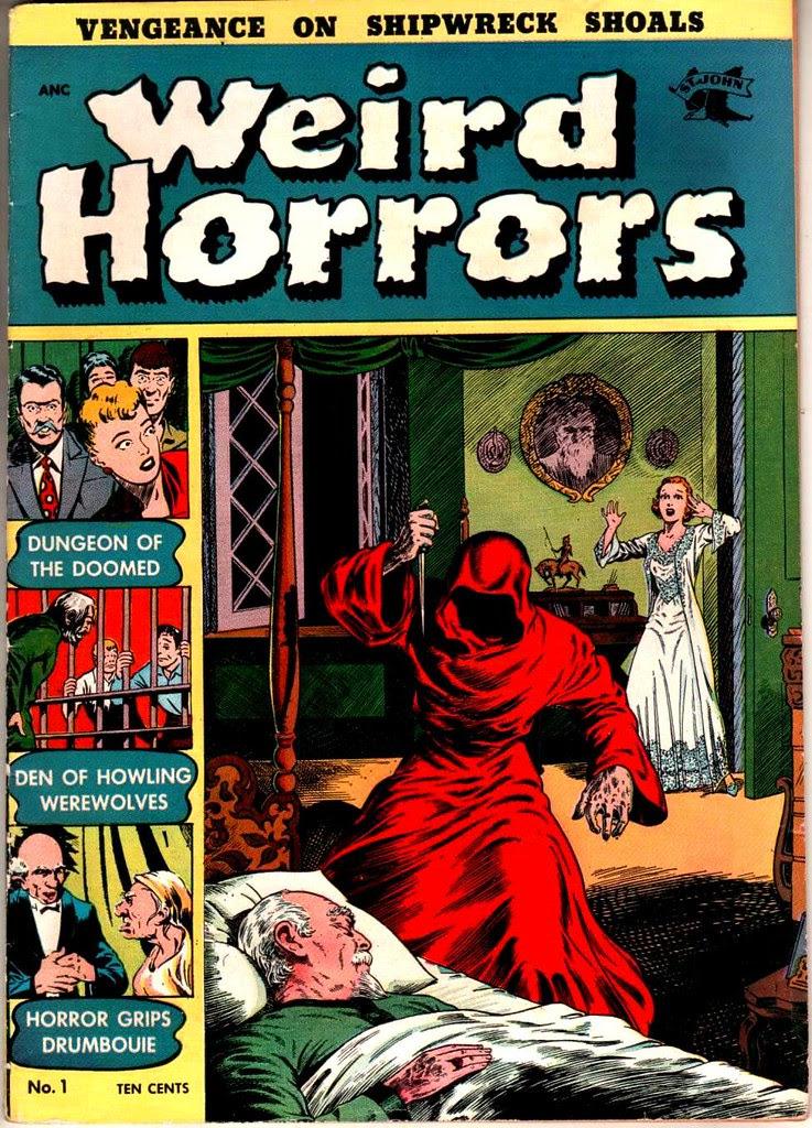 Weird Horrors 1 St John Publications 1952