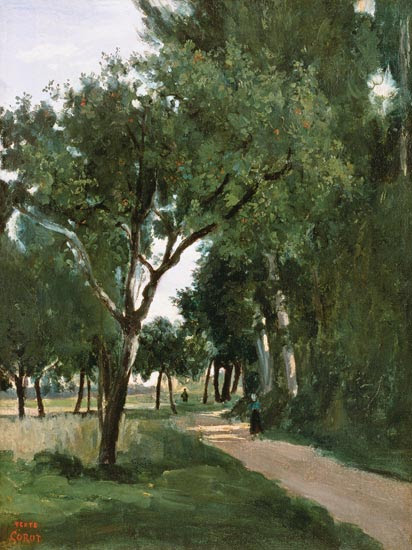 Jean-Baptiste-Camille Corot - Avenue in the Woods, near Chaville