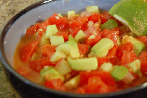 chunky gazpacho