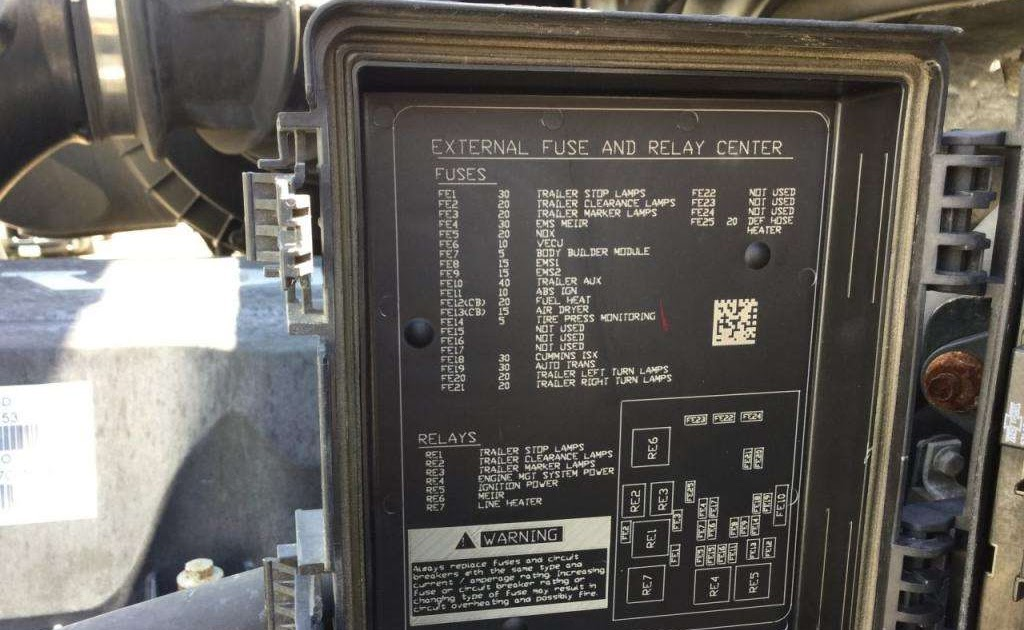 Wiring Diagram Database  Volvo Vnl Fuse Box Diagram