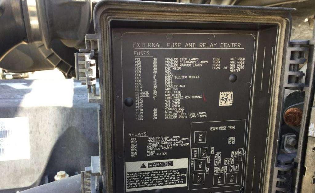 Wiring Diagram Database  Volvo Vnl Fuse Box Diagram