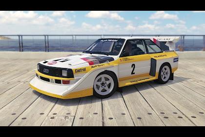 1986 Audi Sport Quattro S1