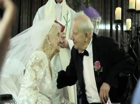 Bride Dana Jackson Ties Knot on 100th Birthday [VIDEO]