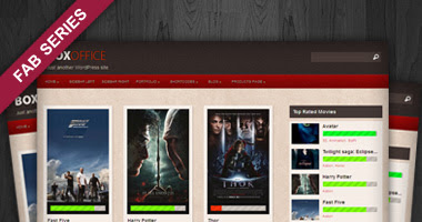 Boxoffice Free WP Theme