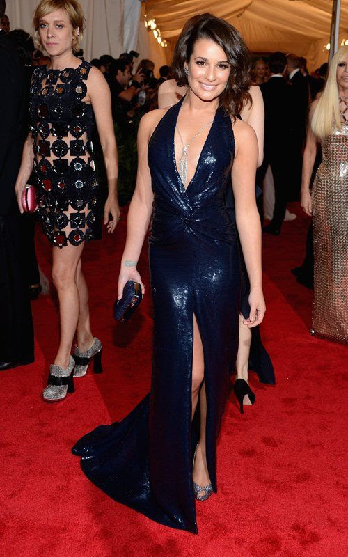 Costume Institute Gala Met Ball - May 7, 2012, Lea Michele
