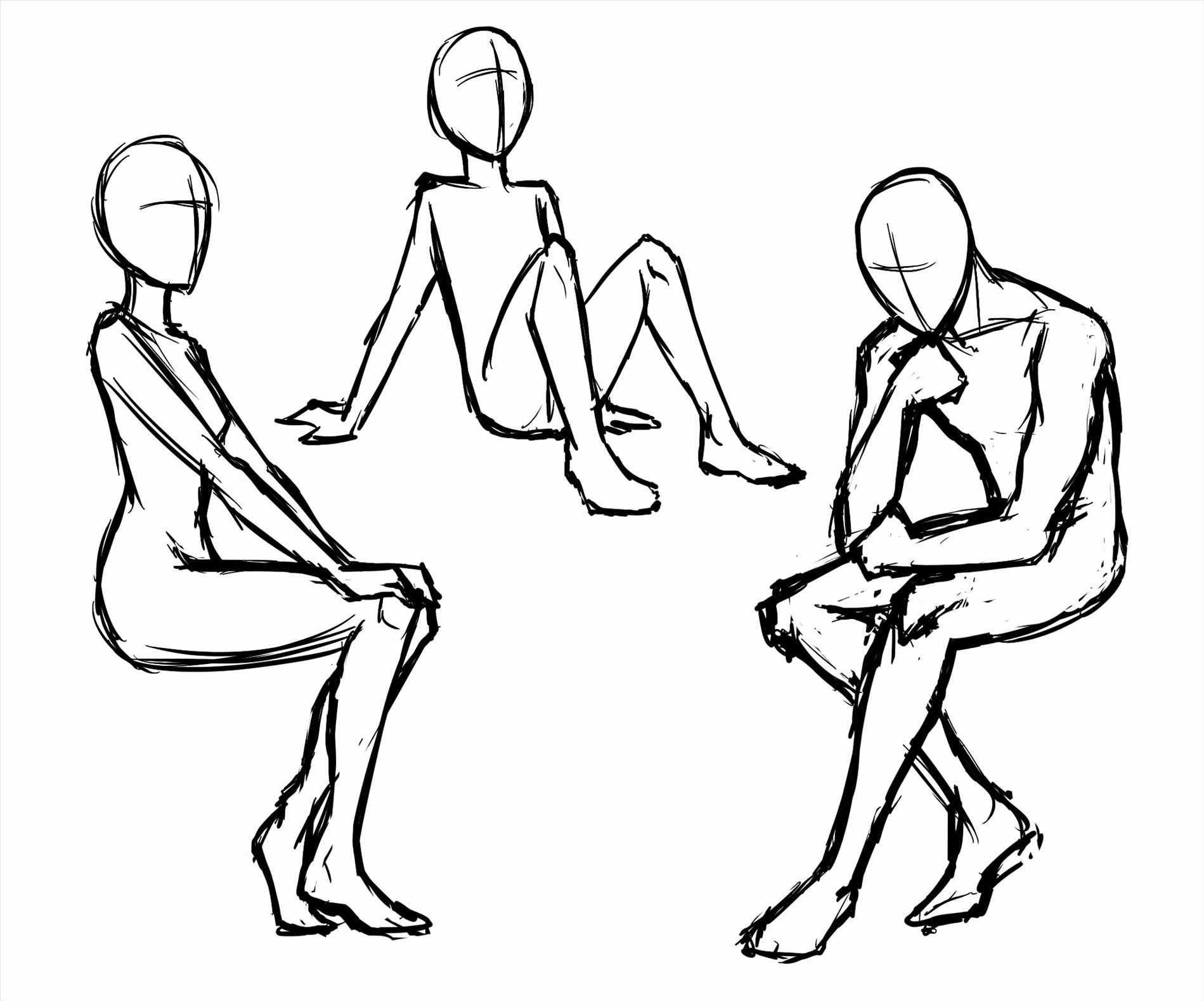 Anime Male Body Drawing Base Materi Pelajaran 8 Full body base followed by 132 people on pinterest. anime male body drawing base materi