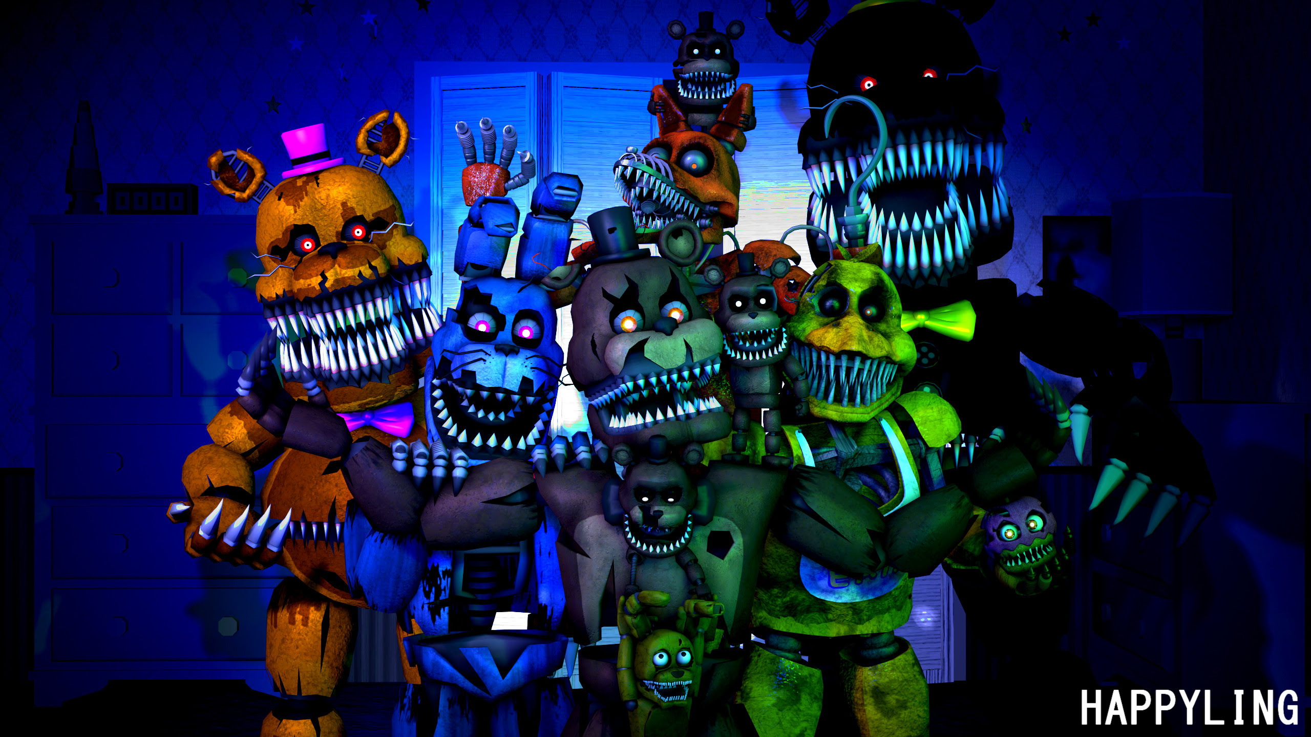 Fnaf Wallpapers Hd 71 Images
