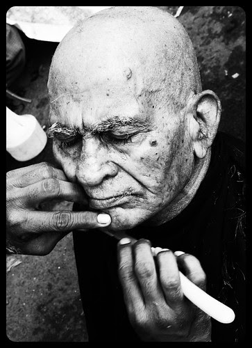 The Street Barbers Banganga by firoze shakir photographerno1